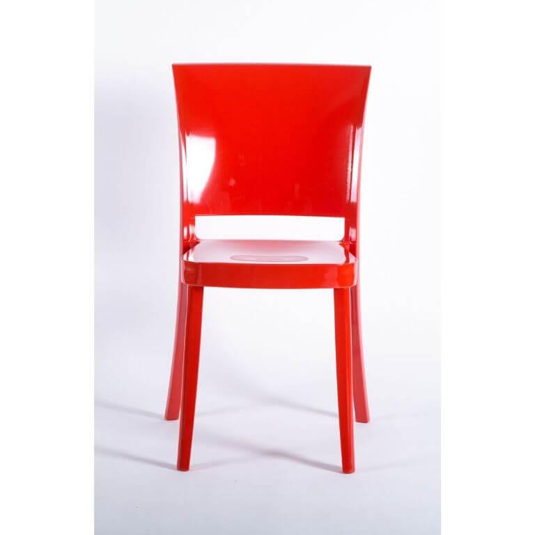 Sedia in Policarbonato Colorata Design - Lucienne ...
