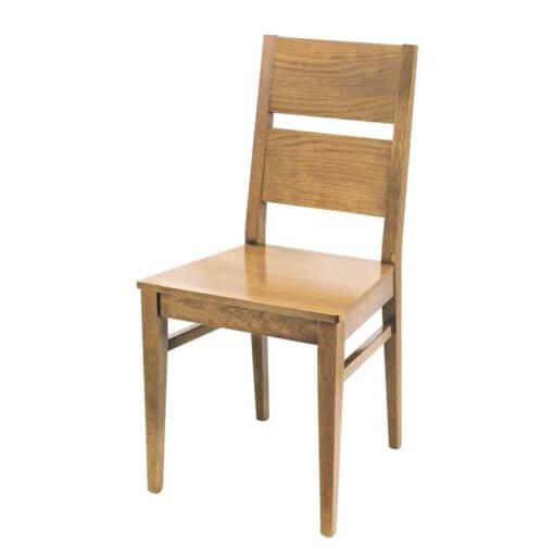 Sedia di legno massello