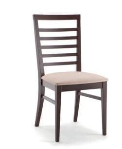 Sedia in legno massello di faggio naturale 1100