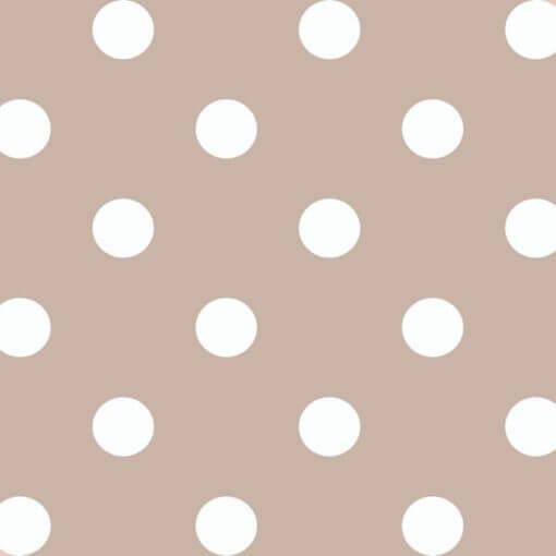 tovaglia confezionata quadrata pois bianchi
