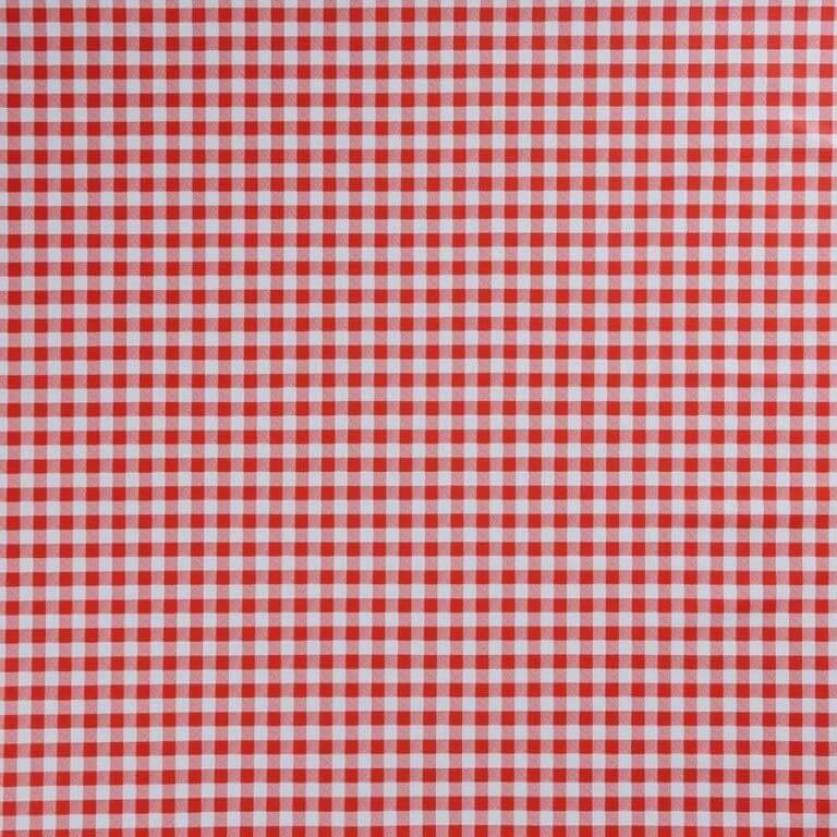 Rotolo Tovaglia in Plastica - Quadretto Rosso - 140 cm x 20 m - Bottigelli