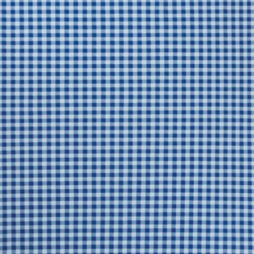 tovaglia al metro fantasia quadretto blu