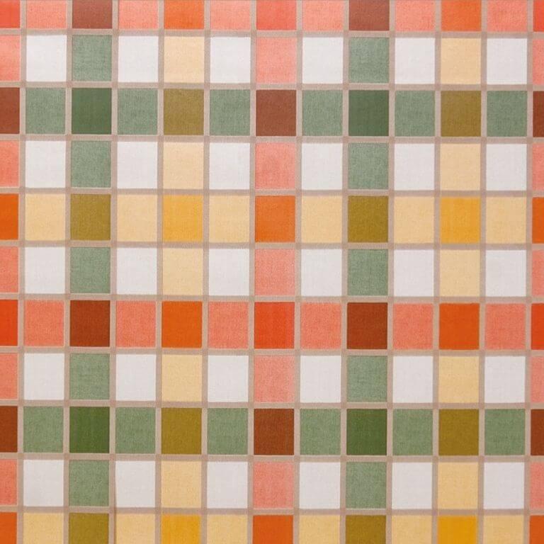 Rotolo Tovaglia Plastificata - Quadretti Multicolor - 140 cm x 20 m - Bottigelli