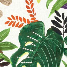 tovaglia cerata al metro con fantasia tropicale
