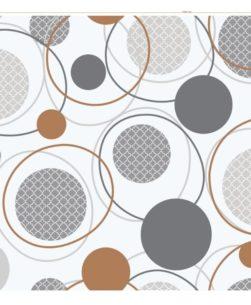 tovaglia al metro cerchi concentrici